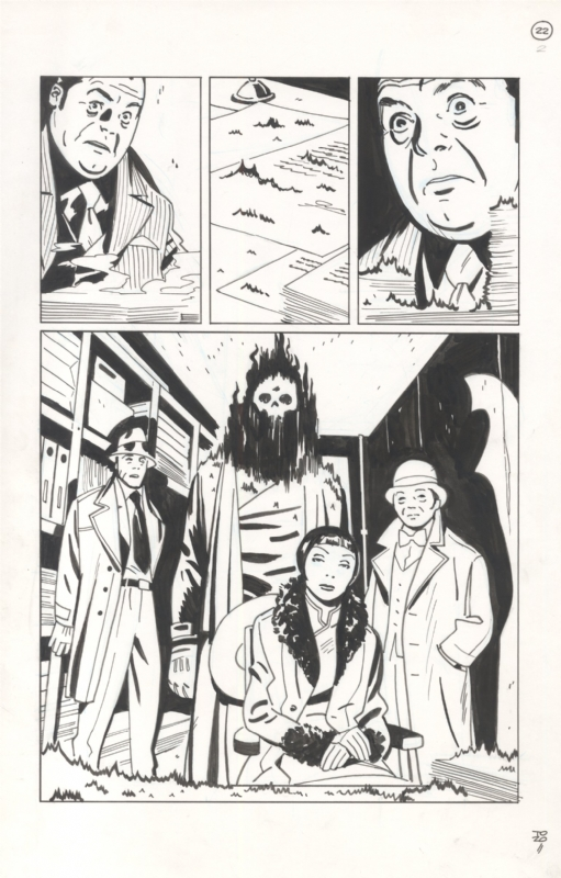 Lobster Johnson The Burning Hand Iss 2 Pg 22