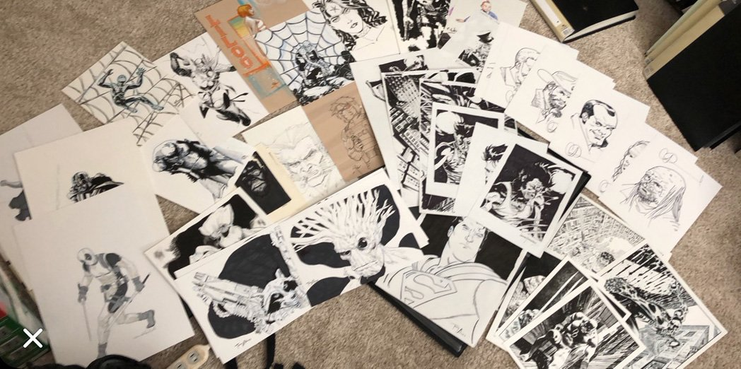 Sketches for Sale
