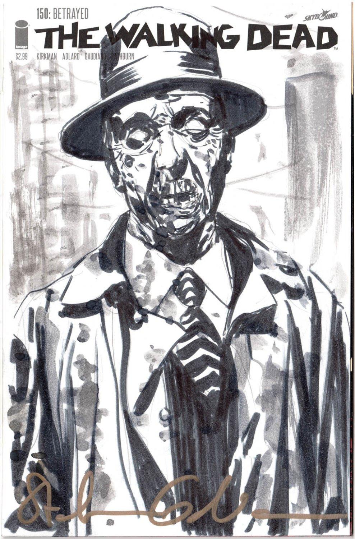 Stefano Gaudiano Zonbie Blank Comic Example