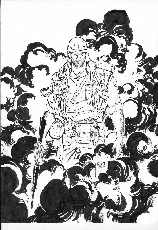 Goran Parlov Punisher The Platoon Cover