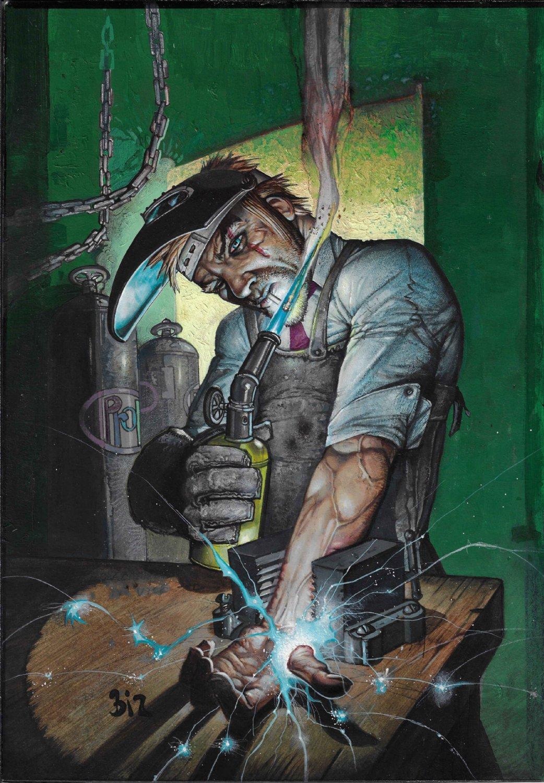 Simon Bisley Hellblazer 278 Cover