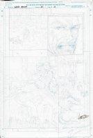Punisher Warzone Unpublished Prelim Comic Art