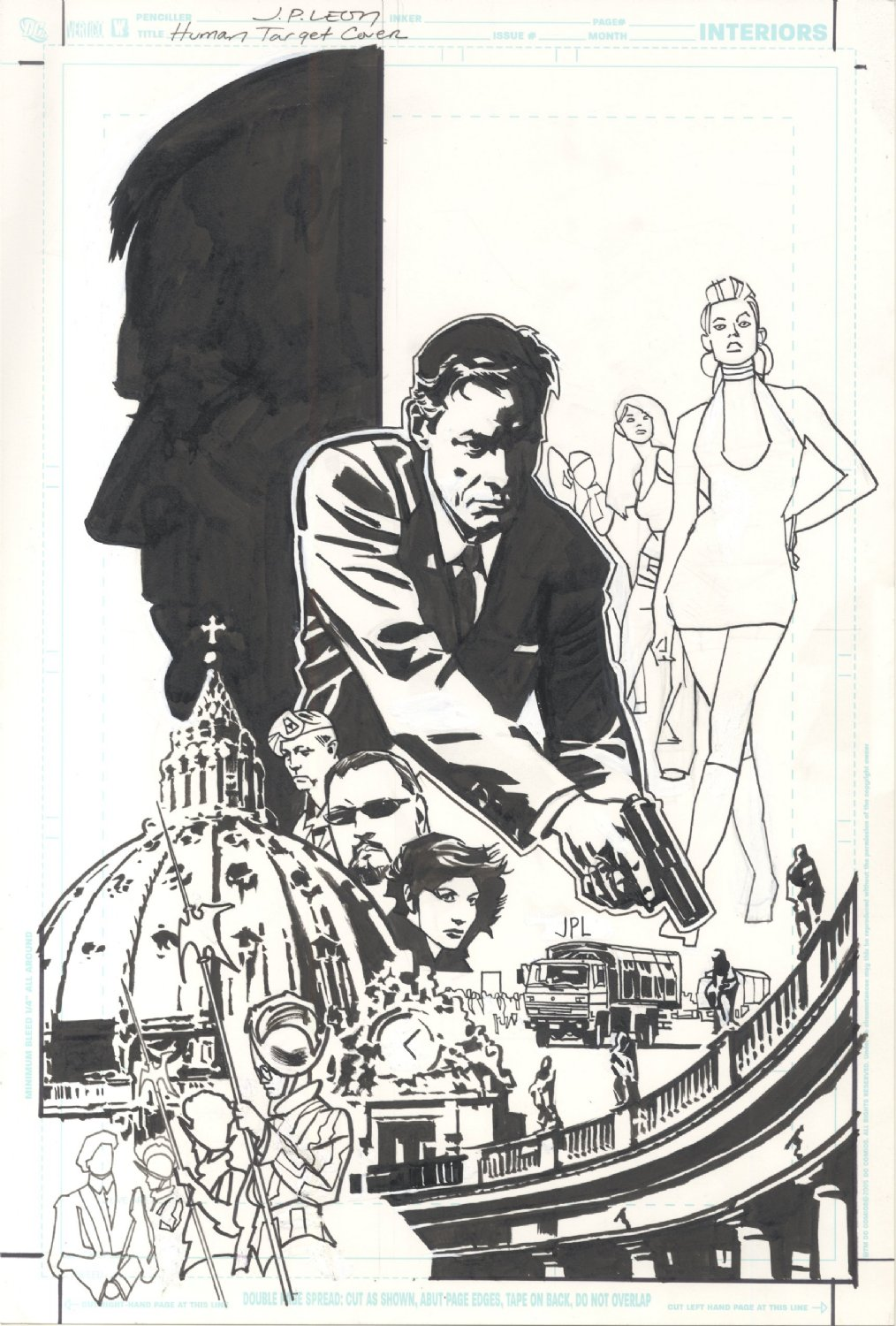 Human Target Cover