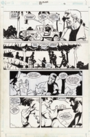 Hellblazer Issue 184 Page 13 Comic Art