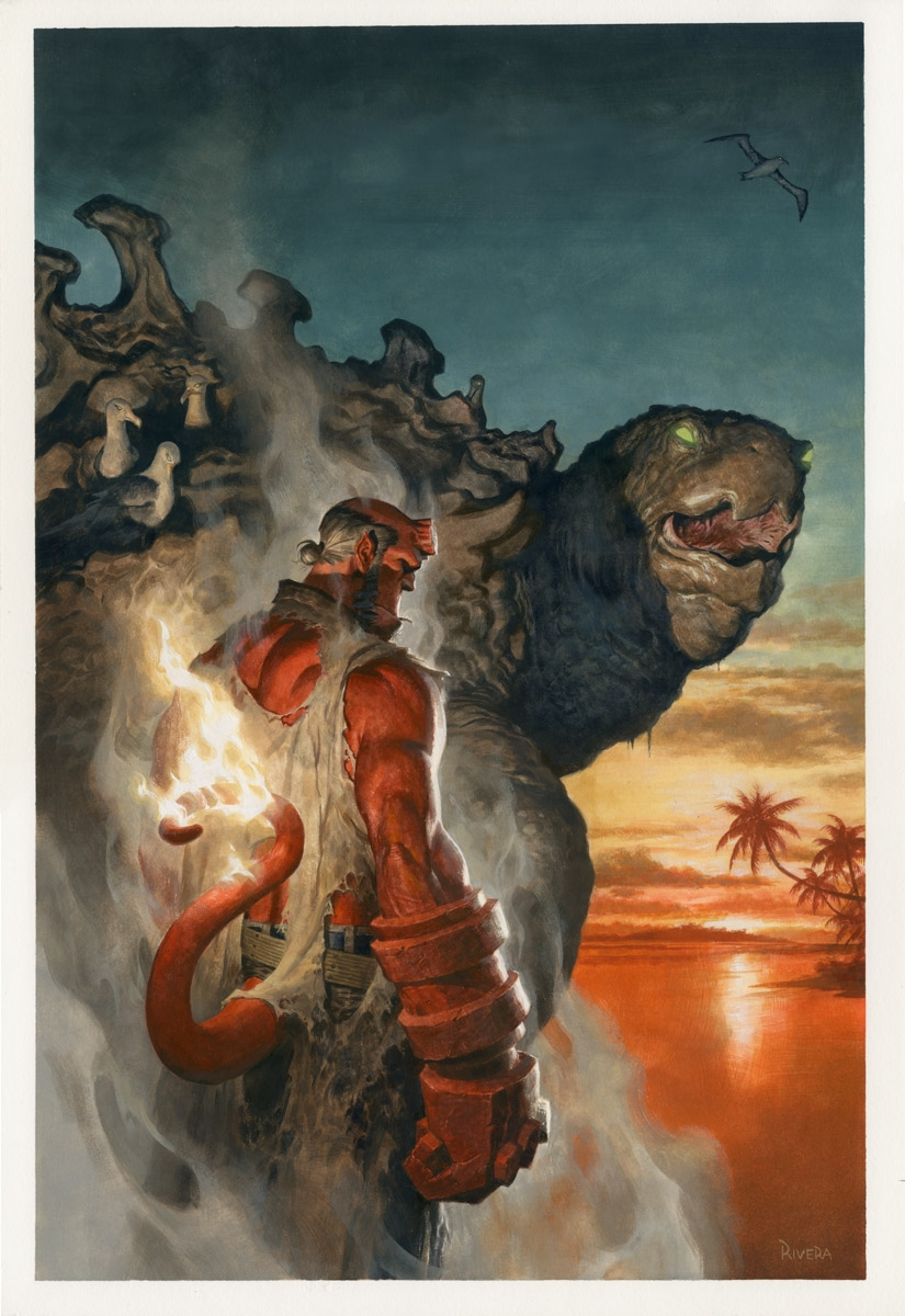 Hellboy and the B.P.R.D 1955 TPB Cover