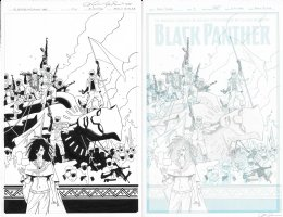 Black Panther Cover Issue 09 Page Cover Comic Art