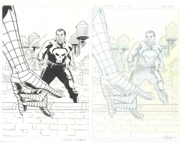 Avenging Spider-man Cover Issue 22 Page Cover Comic Art