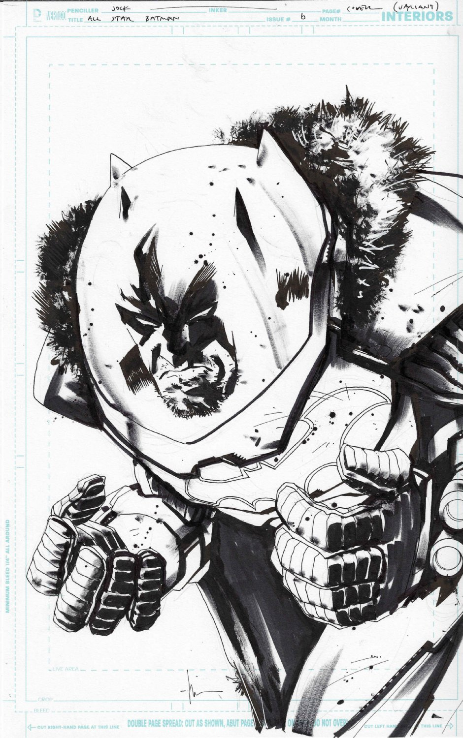 All Star Batman Variant Cover