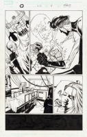Marvel Knights 4 Issue 13 Page 04 Comic Art