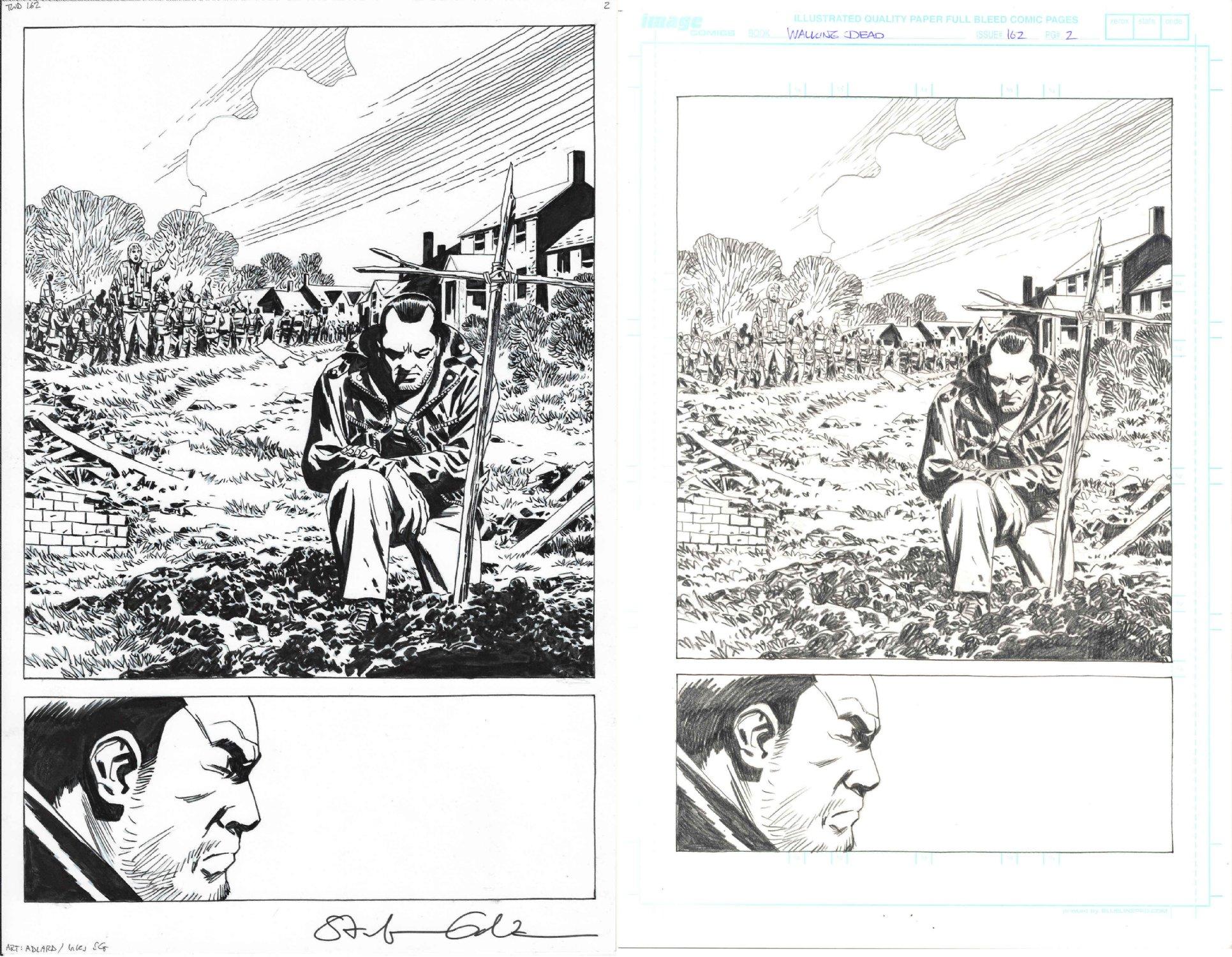 Charlie Adlard The Walking Dead 162 Art