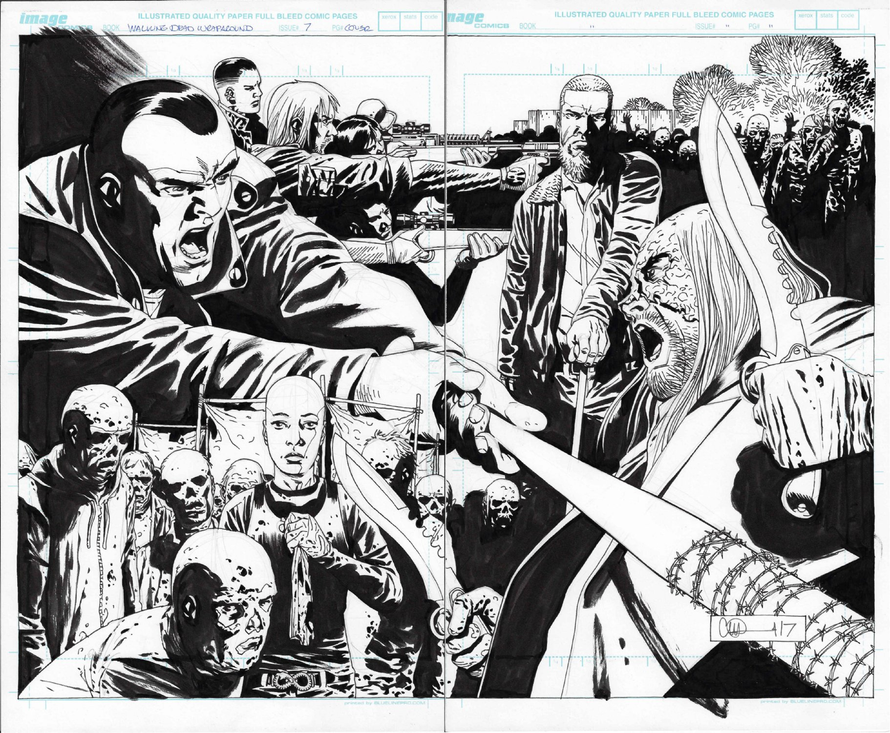Walking Dead Compendium 7 Cover and Iss 179