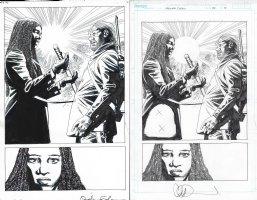 Walking Dead Issue 179 Page 14 Comic Art