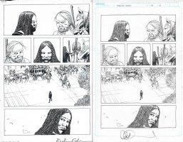 Walking Dead Issue 179 Page 15 Comic Art