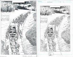 Walking Dead Issue 179 Page 16 Comic Art