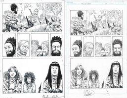 Walking Dead Issue 179 Page 17 Comic Art