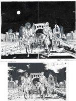 Walking Dead Issue 179 Page 18 & 19 Comic Art