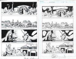 Walking Dead Issue 179 Page 20 Comic Art
