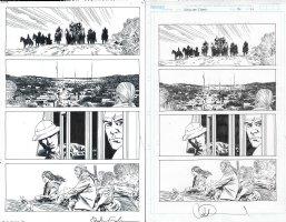 Walking Dead Issue 179 Page 21 Comic Art