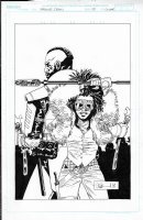 Walking Dead Cover Issue 181 Page Cover Comic Art