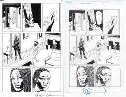 Walking Dead Issue 177 Page 11 Comic Art