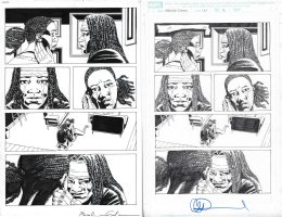 Walking Dead Issue 177 Page 13 Comic Art