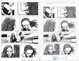 Walking Dead Issue 177 Page 14 Comic Art