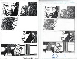Walking Dead Issue 177 Page 15 Comic Art