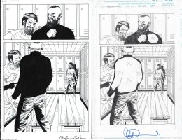 Walking Dead Issue 177 Page 22 Comic Art