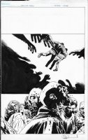 Walking Dead TPB Cover Issue 28 Page Cover Comic Art