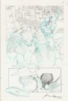 Batman Superman Vs Aliens Predators Page 06 Comic Art