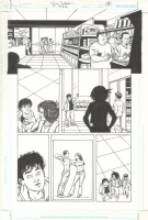 A.D.D. Adolescent Demo Division Issue GN Page 20 Comic Art