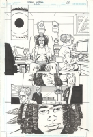 A.D.D. Adolescent Demo Division Issue GN Page 25 Comic Art