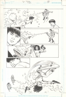 A.D.D. Adolescent Demo Division Issue GN Page 36 Comic Art