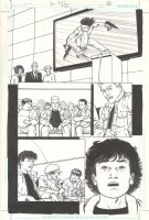 A.D.D. Adolescent Demo Division Issue GN Page 40 Comic Art