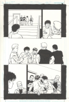 A.D.D. Adolescent Demo Division Issue GN Page 48 Comic Art