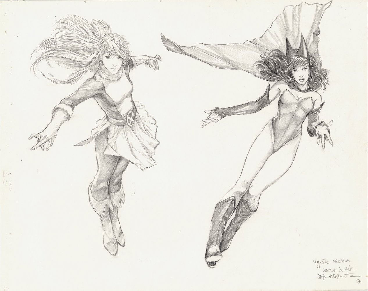 Mystic Arcana Magik  and Scarlet Witch