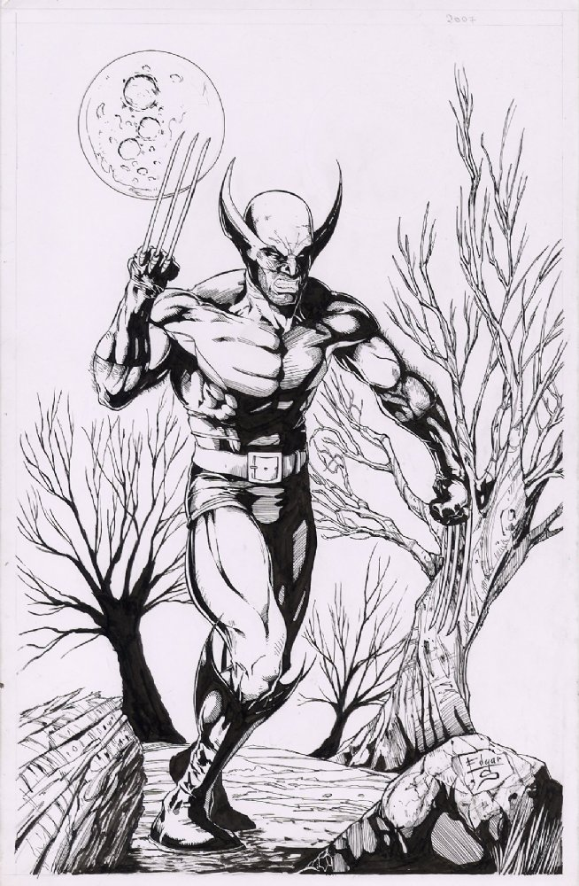 Wolverine Commission Sample