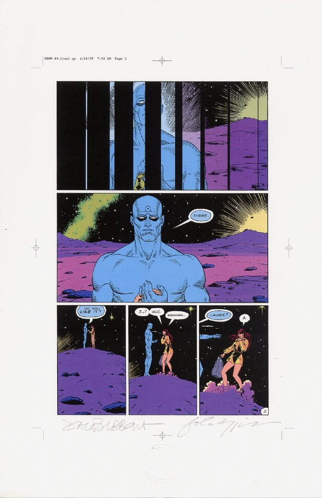 Watchmen Chapter IX Color Proof