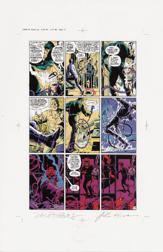 Watchmen Chapter VIII Color Proof