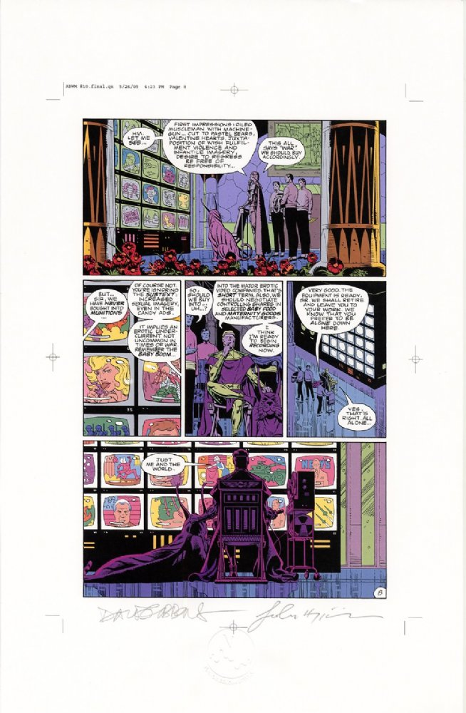 Watchmen Chapter X Color Proof