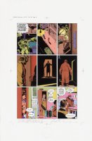 Watchmen Chapter I Color Proof Page 10 Comic Art