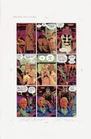 Watchmen Chapter I Color Proof Page 15 Comic Art