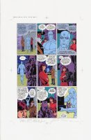 Watchmen Chapter I Color Proof Page 21 Comic Art