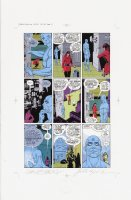 Watchmen Chapter I Color Proof Page 23 Comic Art
