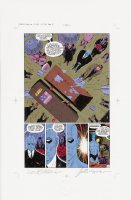 Watchmen Chapter II Color Proof Page 12 Comic Art