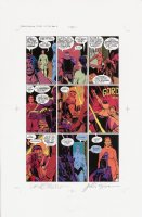 Watchmen Chapter II Color Proof Page 14 Comic Art