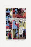 Watchmen Chapter II Color Proof Page 15 Comic Art