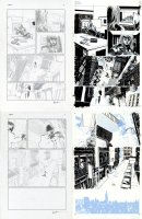 Amazing Spider-Man Issue 621 Page 16 and 17 Comic Art