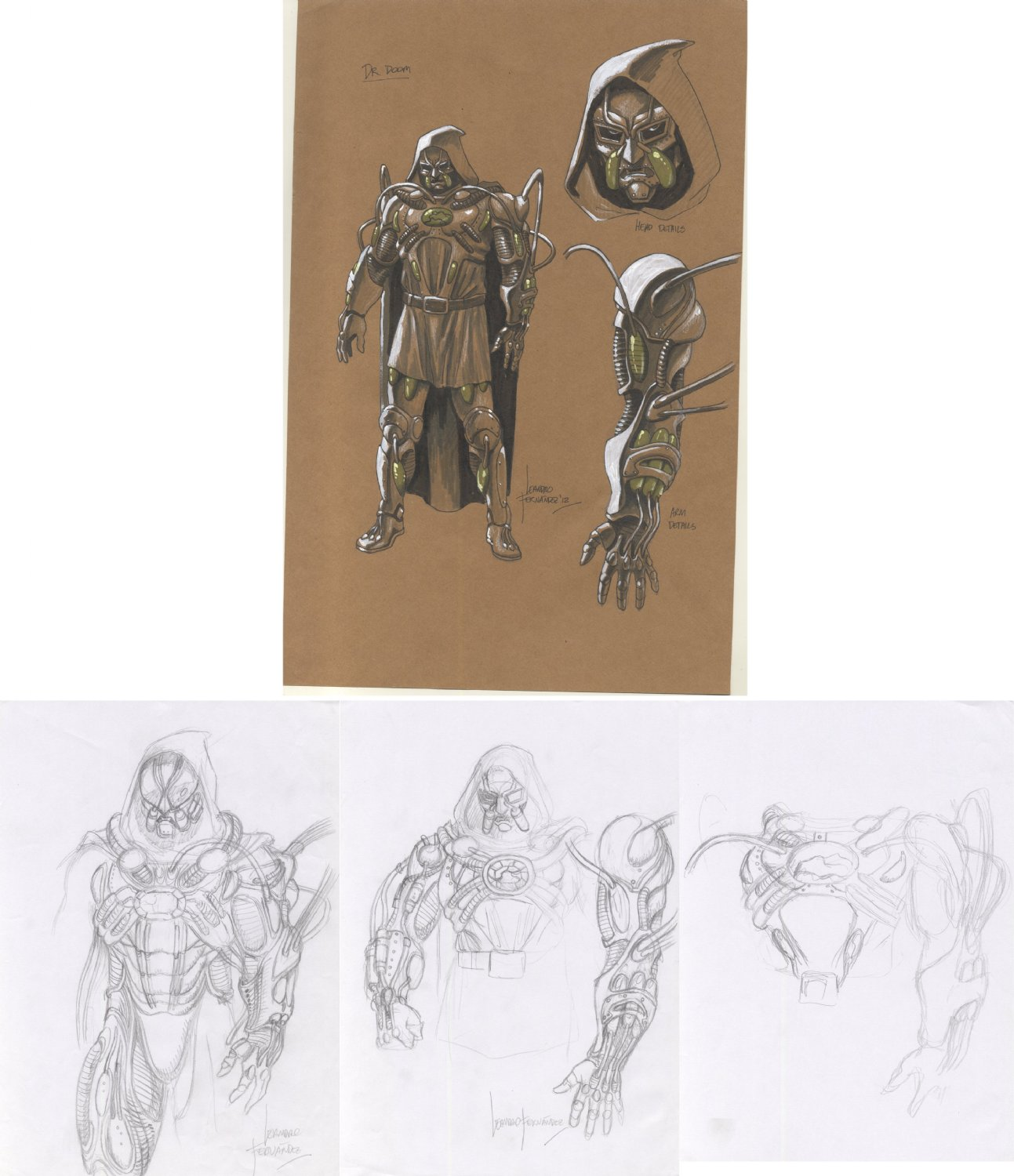 Marvel Universe vs The Avengers Doom Character Design