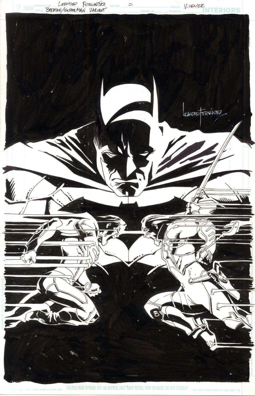 Batman Superman New 52 Cover